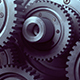 Industrial Machinery Consisting of Gears - VideoHive Item for Sale