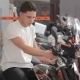Buyer Examines Motorbike - VideoHive Item for Sale