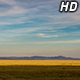 Wind Farm Behind Golden Farmland - VideoHive Item for Sale