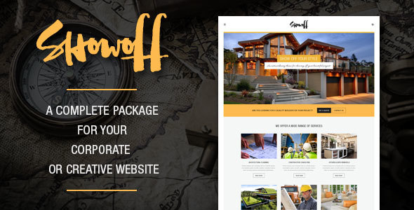 Showoff – Complete Corporate WordPress Theme