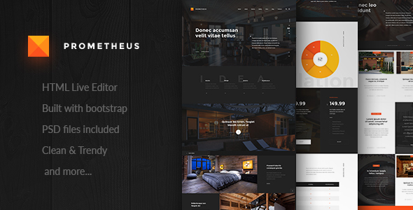 Prometheus – Multipurpose HTML Template - Corporate Site Templates