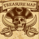 Vector Pirate Treasure Map  - GraphicRiver Item for Sale