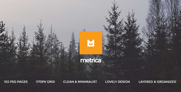 Metrica - Multi-Concept PSD Theme