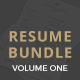 Clean Resume Bundle - GraphicRiver Item for Sale