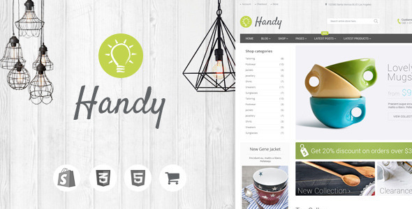 Handy – Handmade Shop Shopify Theme
