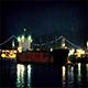 Tanker Ship Passing Bridge At Night - VideoHive Item for Sale