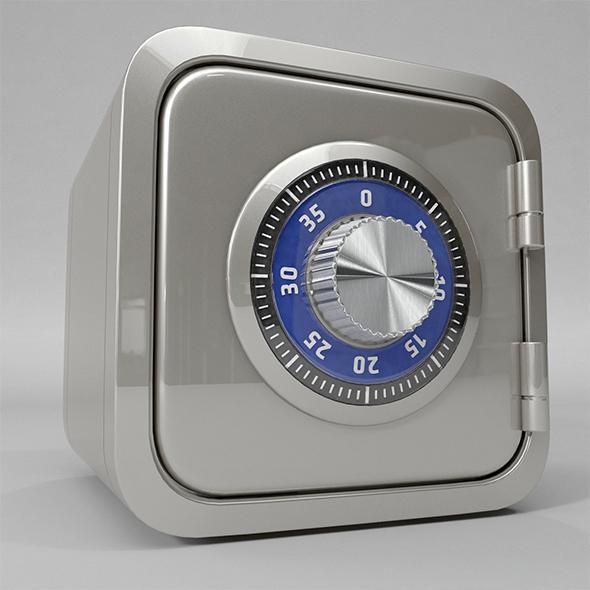 Safe Box - 3DOcean Item for Sale