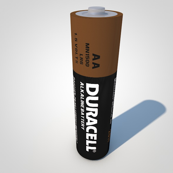 AA Battery - 3DOcean Item for Sale