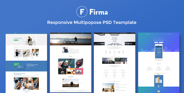 Firma - Multipurpose PSD Template - PSD Templates