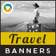 HTML5 Travel Banners - GWD - 7 Sizes(BEE-074) - CodeCanyon Item for Sale