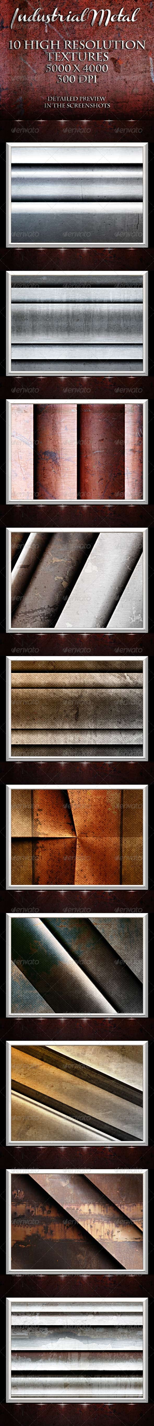 Industrial Metal - Tech / Futuristic Backgrounds