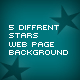 Stars Web Background - GraphicRiver Item for Sale