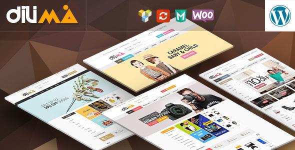 Dilima – Mega Store Responsive WooComerce Theme