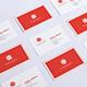 Realistic Business Card Mockups Bundle  - GraphicRiver Item for Sale