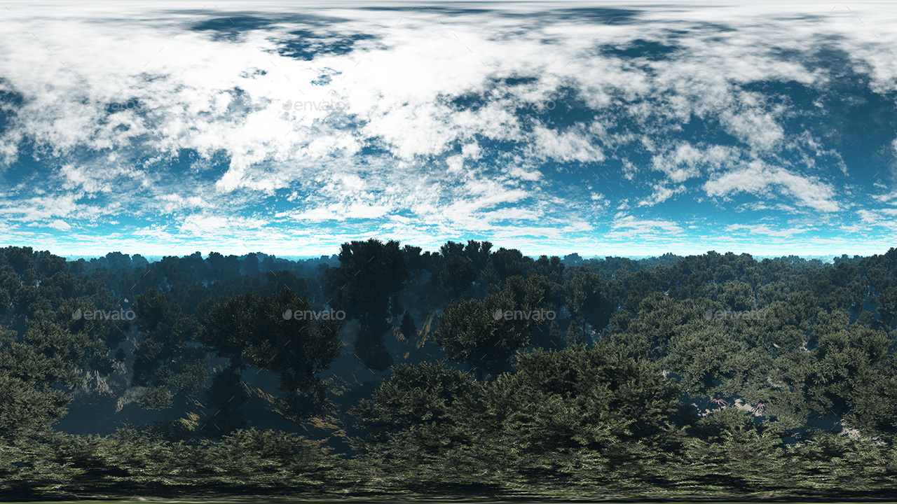 Forest Skybox Pack Vol I By 7030 Artwork 3docean