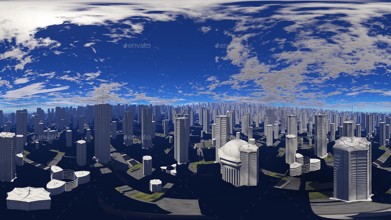 Hdr City Skies By 7030 Artwork 3docean
