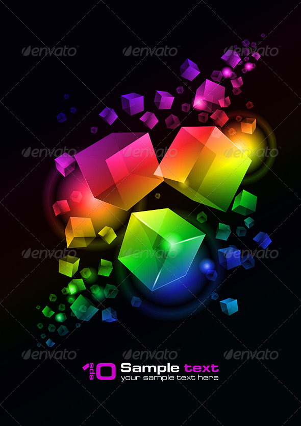 Vector abstract design - Abstract Conceptual