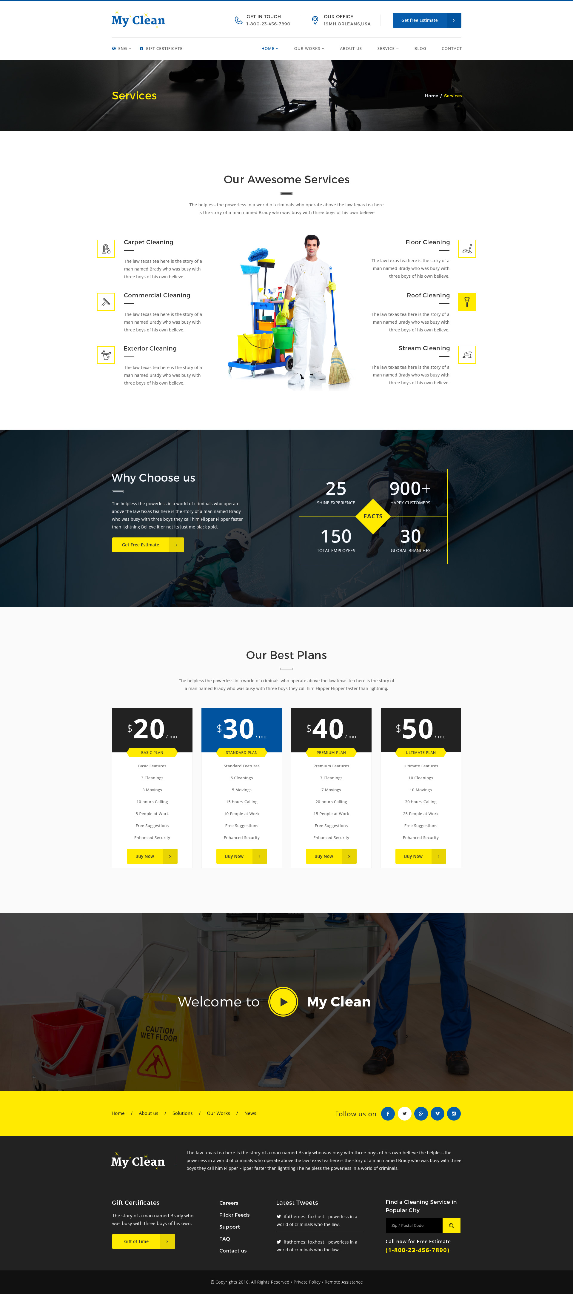 Carpet Cleaning Website Template. carpet cleaning e template ...