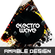 Electro Waves Flyer/Poster - GraphicRiver Item for Sale