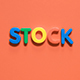 "Man Collects the Word ""Stock"" - VideoHive Item for Sale"