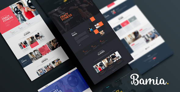 Bamia – Multipurpose One-Page Template