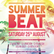 Summer Beat Flyer - GraphicRiver Item for Sale