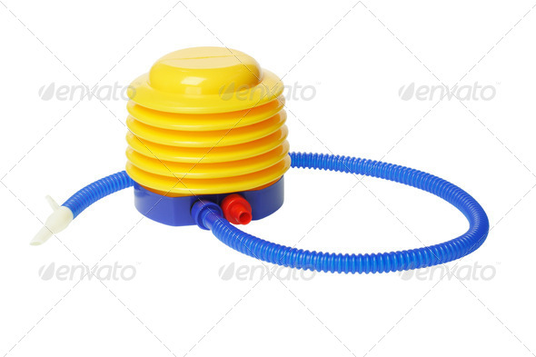 Plastic Air Pump - Stock Photo - Images