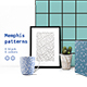Black and White Set Memphis Patterns - GraphicRiver Item for Sale