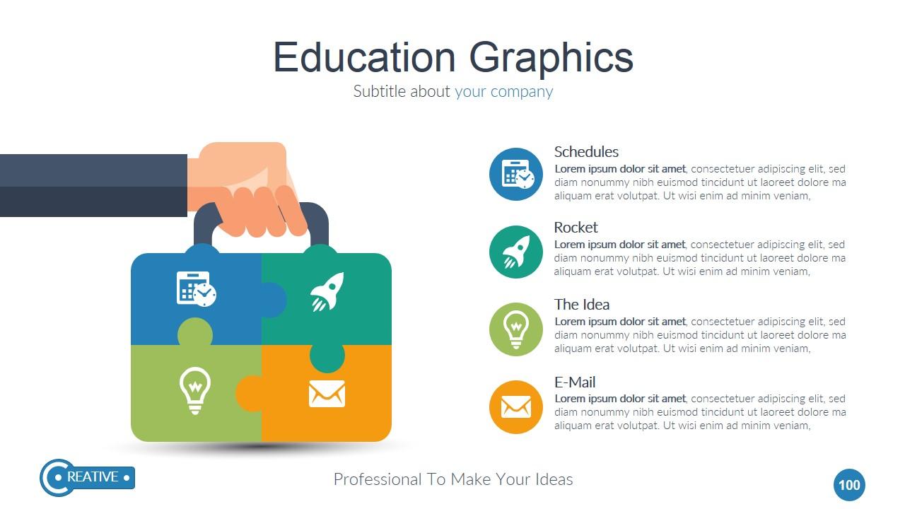 Creative google slide presentation template by toni777 for Table design google slides