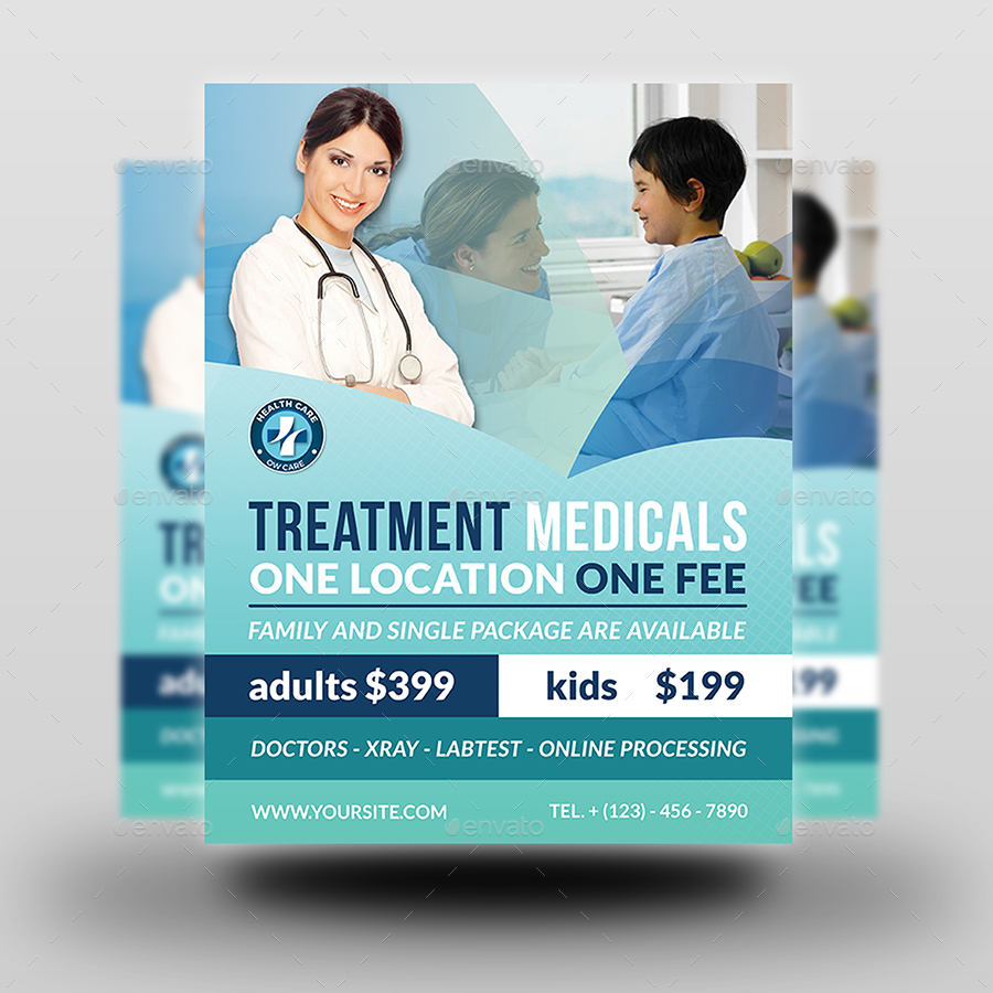 medical flyer templates free