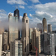 Cloudy Day in the City of Chicago - VideoHive Item for Sale