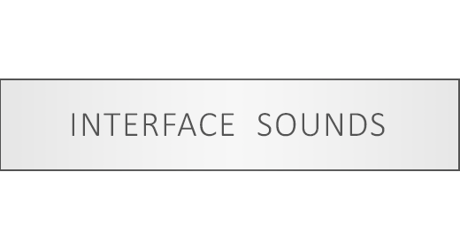 Interface Sounds