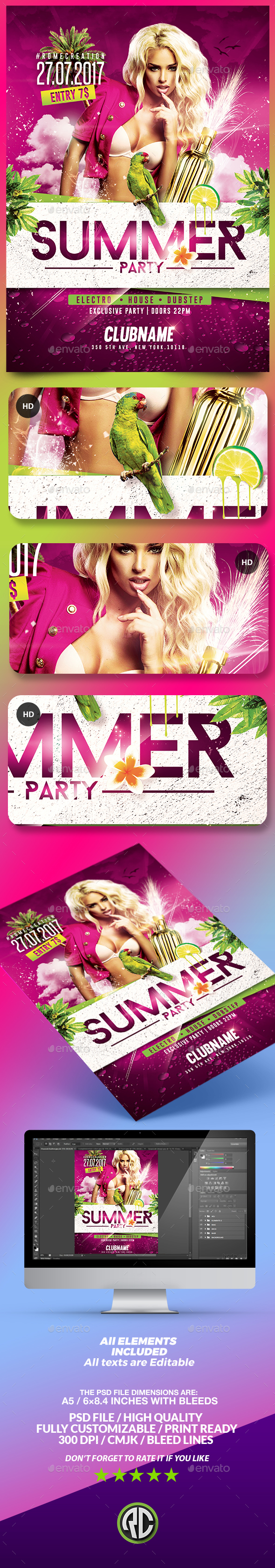 Summer Party | Flyer