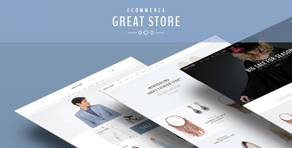 GREAT STORE – Responsive Shopify Theme