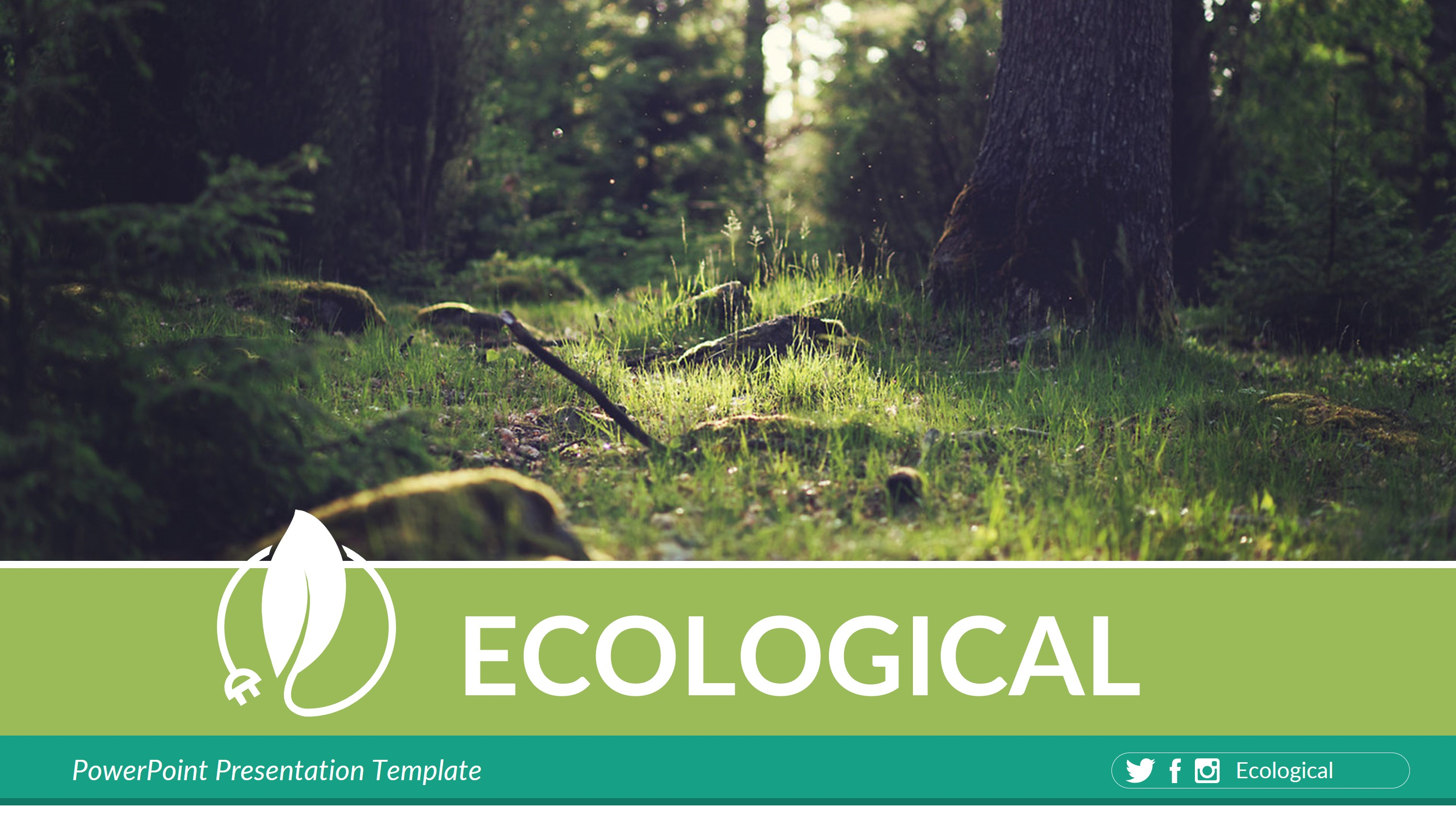 Ecological Powerpoint Presentation Template By Rengstudio Graphicriver