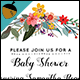 Baby Girl Shower Invitation - GraphicRiver Item for Sale
