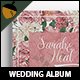 Peonies Wedding Photobook - GraphicRiver Item for Sale