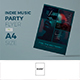 Indie Concert Flyer v.2 - GraphicRiver Item for Sale