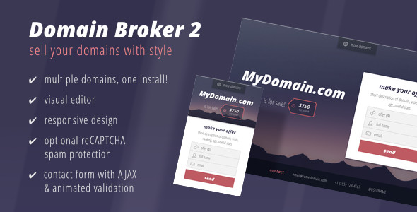 domain broker 2 landing page to sell domains by. Black Bedroom Furniture Sets. Home Design Ideas