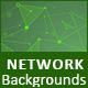 Unique &Futuristic network backgrounds - GraphicRiver Item for Sale