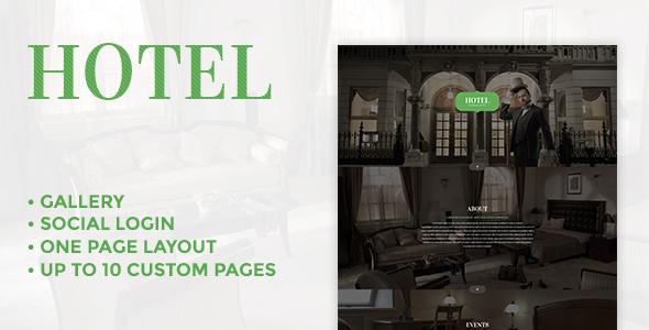 Premium Hotel - Responsive Joomla Template
