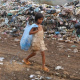 Poverty Kid Walking With Garbage Bag - VideoHive Item for Sale