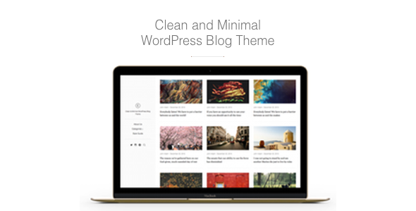 East – Clean & Minimal WordPress Blog Theme