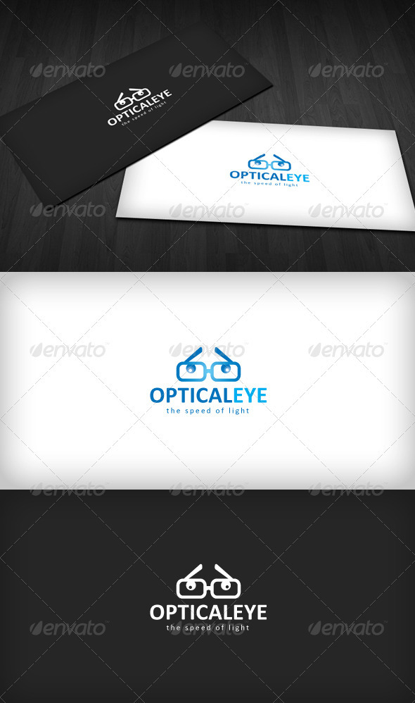 Optical Eye Logo - Objects Logo Templates