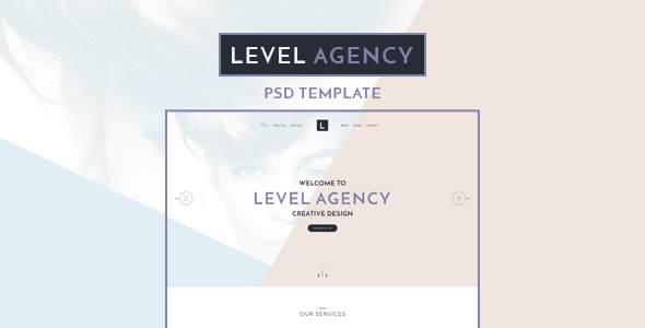 Level Agency – CREATIVE PSD TEMPLATE