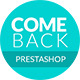Comeback | eCommerce Multipurpose Responsive Prestashop Theme Nulled