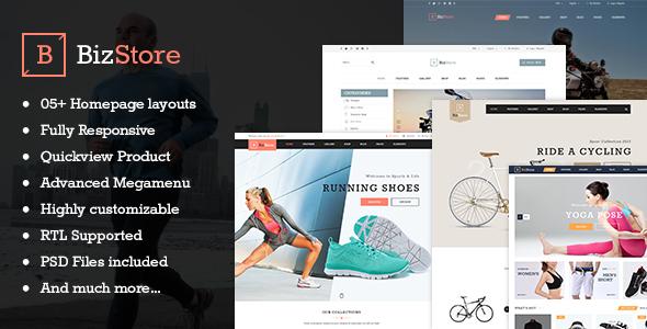 Bizstore – Responsive Premium Prestashop Theme