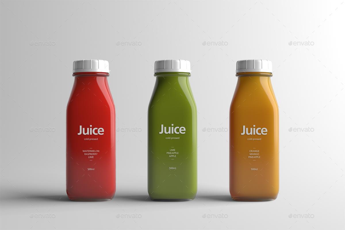 Juice Bottle Packaging Mock Up By Zeisla Graphicriver