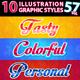 10 Illustrator Graphic Styles Vol.57 - GraphicRiver Item for Sale