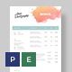 Creative Invoice Template - GraphicRiver Item for Sale